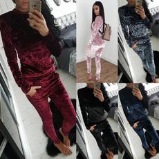 warmromper, velvet, Winter, Sleeve