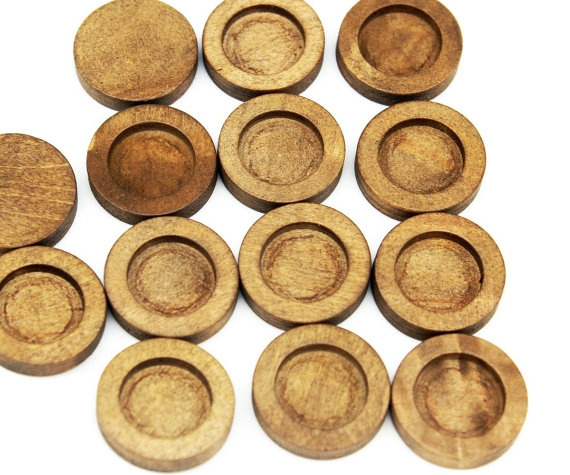 Antique, Wood, Natural, Jewelry