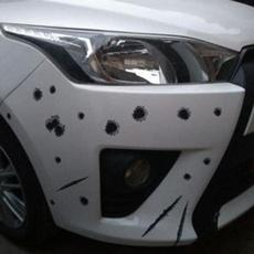 Car Sticker, Shark, Bullet, Funny