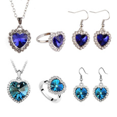 Heart, Jewelry, Gifts, Crystal