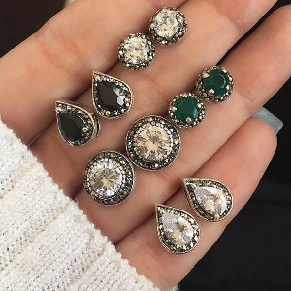 Jewelry, Gifts, Stud Earring, Gemstone