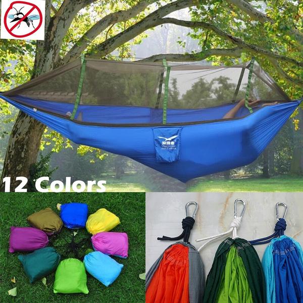 antimosquito, nylonnetmeshhammock, camping, outdoorhammock