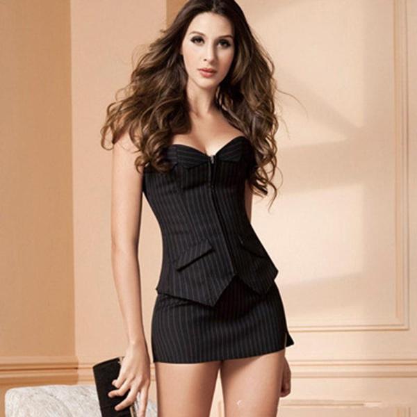 Mini, Office, Corset, sexy corset