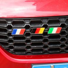 Car Sticker, universalstickerbadge, Mercedes, germanyflagbadge