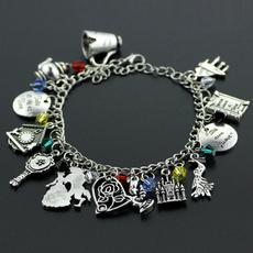 Charm Bracelet, Fashion, Princess, Chain