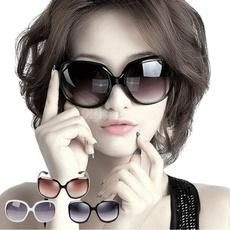 Designers, Oversize, uvproof, Round Sunglasses