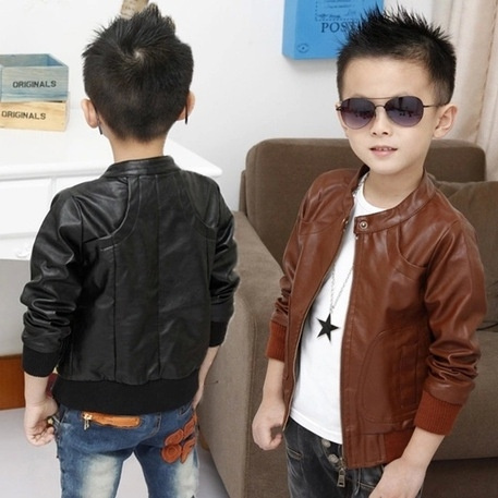 brown, Fashion, boyleathercoat, leather