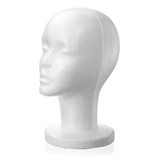 wig, foamstyrofoam, Head, Cap