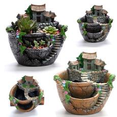 flowerpotsplanter, decoration, creativeflowerpot, Flowers