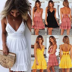 Summer, summer dress, pleated dress, Lace