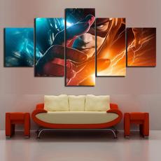 Home Decor, Superhero, Wall Art, canvaspainting