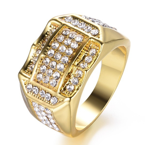 goldplated, bandring, Jewelry, gold