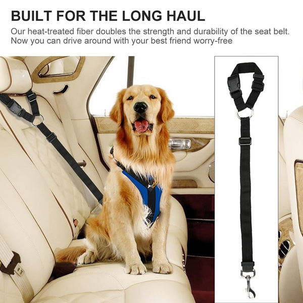 Safety Pet Seat Belts for Car Harness
