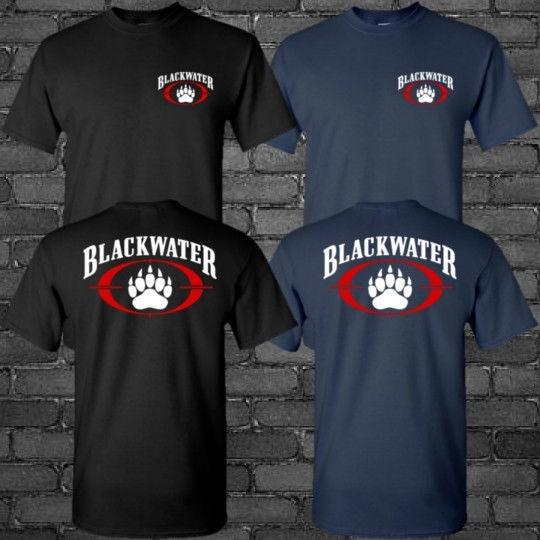 Academi Compagnie militaire Blackwater-Unisexe Sweat à Capuche Noir Toutes Tailles
