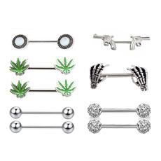 nipplepiercing, leaf, shield, nippleshieldjewelry