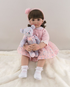 pink, toddlergirl, Toddler, rebornbabydoll