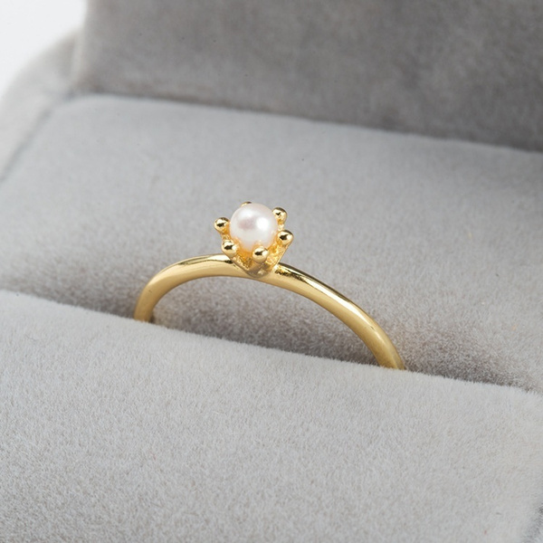 Fashion, gold, Simple, Engagement Ring