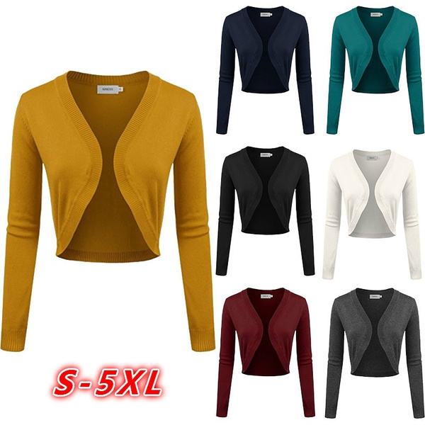 Shrugs, Plus Size, womenouterwear, sweatercardigan