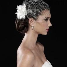 Ivory, weddingveil, Bridal, bridalheaddres