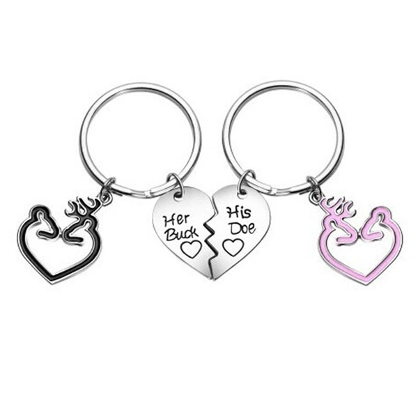 hisdoeandherbuck, Key Chain, lover gifts, Gifts