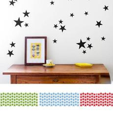 Star, Home Decor, gold, Stickers