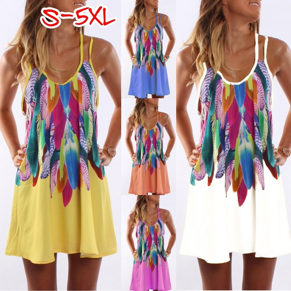 Summer, Plus Size, vest dress, Halter