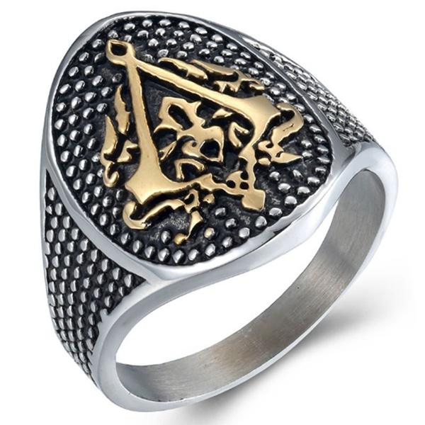 Steel, Jewelry, gold, titanium