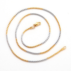 Chain Necklace, Fashion necklaces, Jewelry, gold