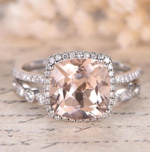 Silver Jewelry, DIAMOND, 925 sterling silver, wedding ring