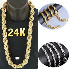 24kgold, Goth, Jewelry, gold