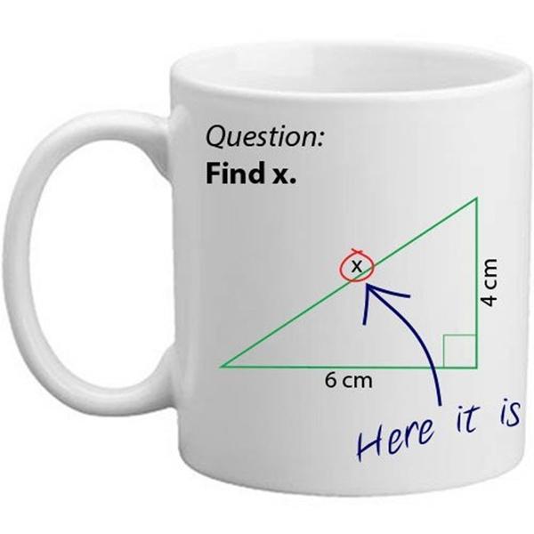 Gifts, Novelty, pythagorasmug, Coffee Mug