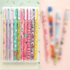 ballpoint pen, studentpen, School, Flowers