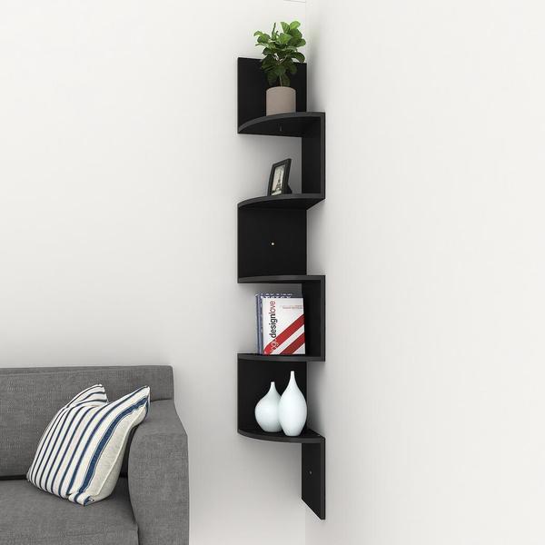 cornershelve, homedecordisplayshelf, Home Decor, Home & Living