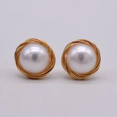 art, Christmas, gold, pearls