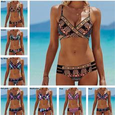 bohemia, Summer, Fashion, bikini set