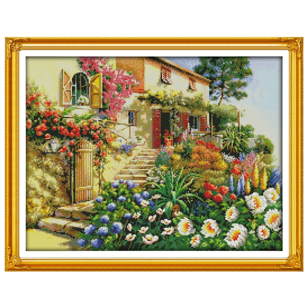 Home Decor, Chinese, countedcrossstitch, kitsforembroidery