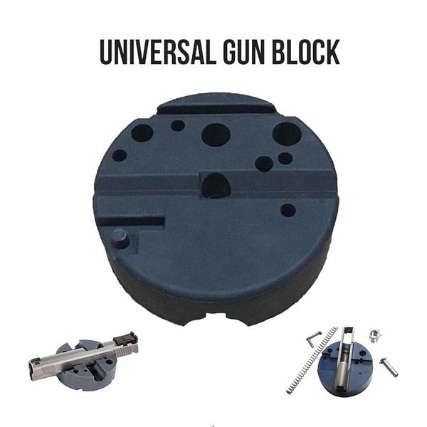 Universal Gunsmithing Bench Block Handgun Pistol M1911 Ruger 10 22s Style Reassemble Firearm Assembly Bench Block Wish