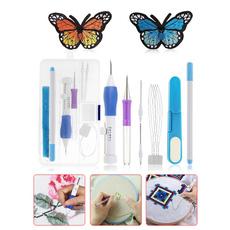 needlepunching, Magic, Embroidery, magicembroiderypen