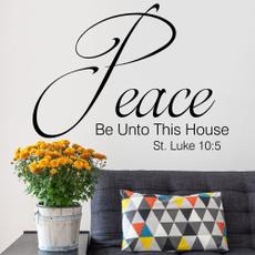 Wall Art, Home Decor, house, Wall Decal