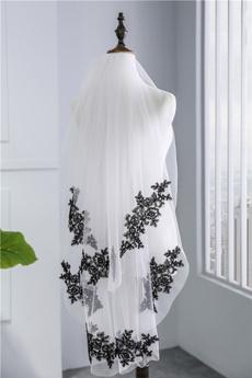 weddingveil, Lace, black lace, laceveil