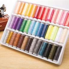 Polyester, Fabric, Thread, Mixed Color