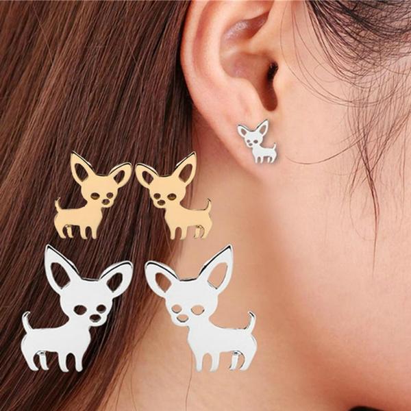 cute, chihuahua, Love, Jewelry