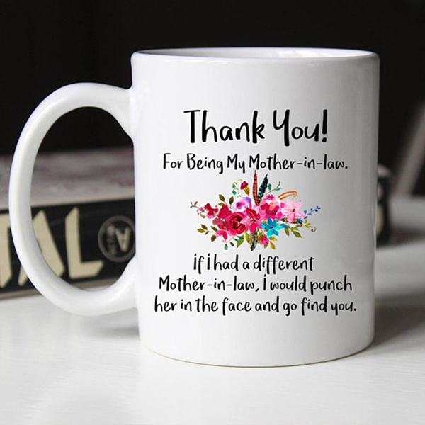 To My Mother In Law Travel Mug Mother In Law Gifts From Daughter In Law To My Mother-In-Law Thank For What You Have Said /& Done Mug
