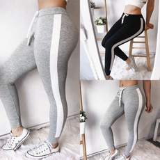 Leggings, Moda, Yoga, Elastic
