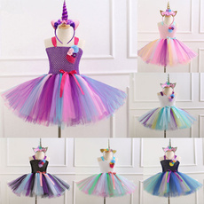 rainbow, unicorncosplaycostume, kidsgirlsdre, Cosplay