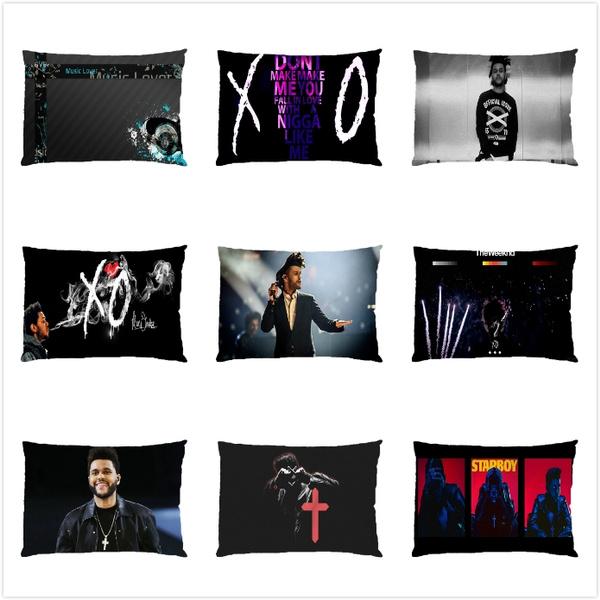 case, soft pillowcase, theweeknd, Pillows