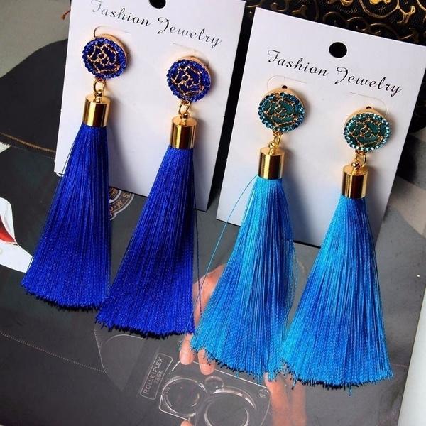 Tassels, Dangle Earring, dangleearing, Fashion Accessories