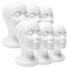 wig, foamstyrofoam, Head, Fashion