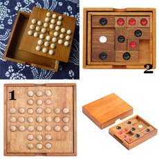 Toy, woodenmarblesolitairetoy, kidsclassicalpuzzletoy, toysampgame