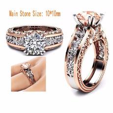 Beautiful Ring, DIAMOND, exquisitealloyring, zirconring